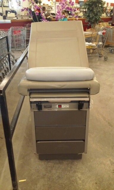 Used obgyn table at thrift store...gross, disturbing and pricey $499