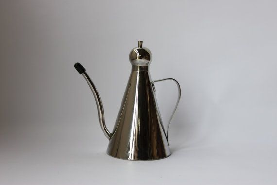 Metal kitchenware serving cruet condiment by MillCottageRetro
