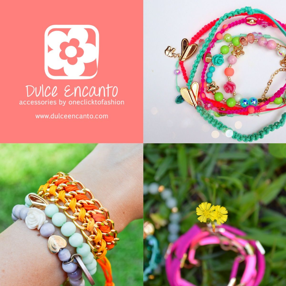 www.dulceencanto.com #accesorios #accessories #aretes #earrings #collares #necklaces #pulseras #bracelets #bolsos #bags #bisuteria #jewelry #medellin #colombia #moda #fashion