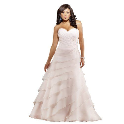 GEORGE BRIDE Strapless Tiered Court Train Satin Wedding Dress GEORGE BRIDE, http://www.amazon.com/dp/B008YQMSNY/ref=cm_sw_r_pi_dp_QWWfrb1T6FE27