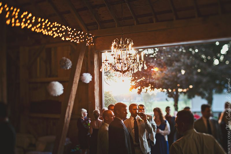 Wedding at the barn, Brookside Farms in Louisville, Ohio ...