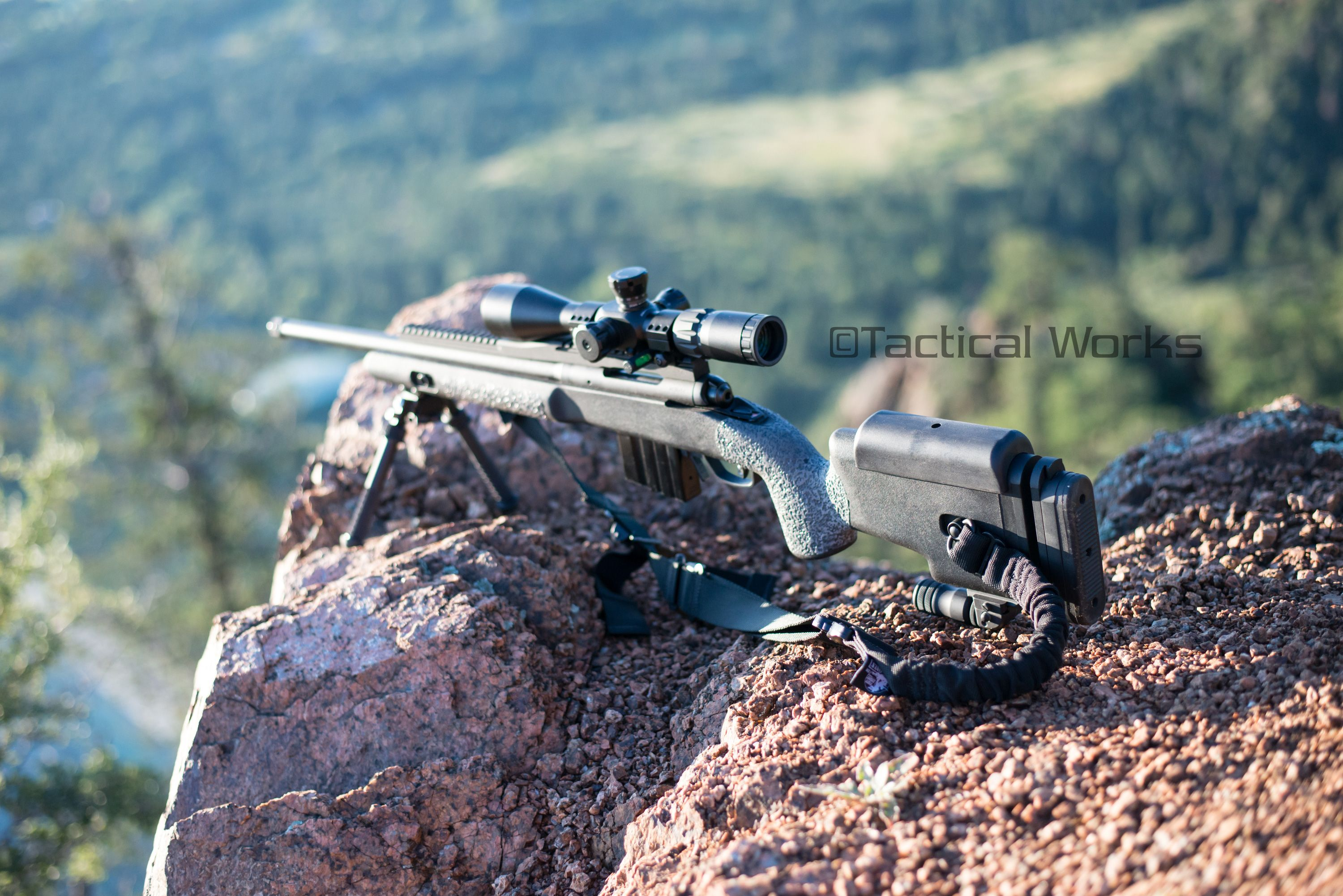 Choate Tactical Stock with a Choate cheek piece and Choate