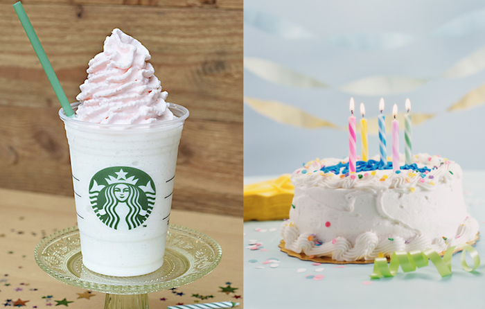 Line Up Now Starbucks Will Offer A Birthday Cake Flavored