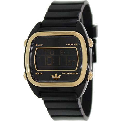 Adidas Men's Sydney ADH2754 Black Plastic Quartz Watch with Digital Dial