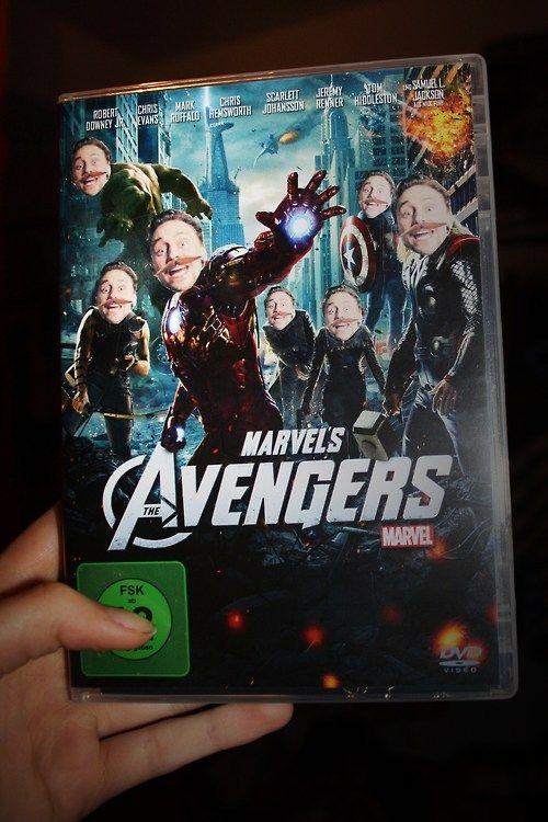 Roflrazzi Avengers Blu Ray Cover Loki D Avengers Loki Marvel Funny