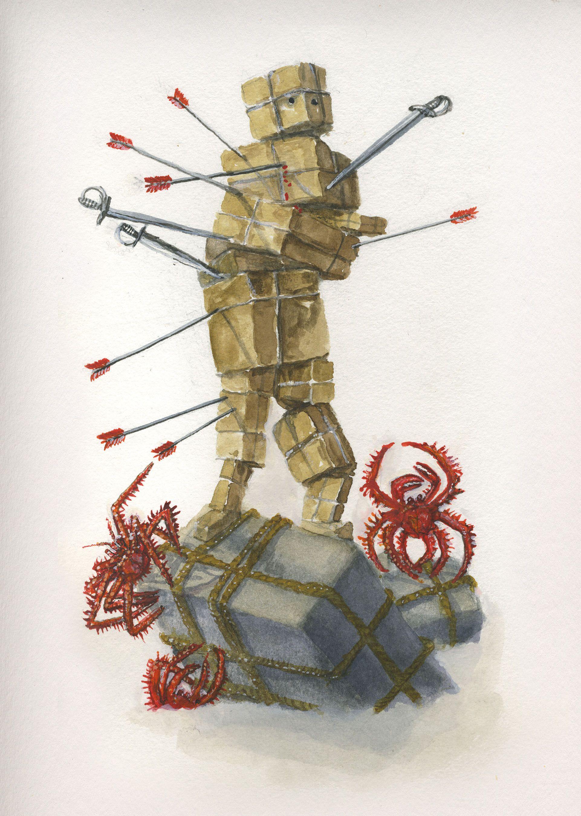 tarot card 10 of swords
