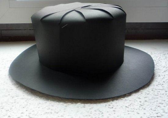 cupón doble atesorar como una mercancía rara llegando Sombrero de copa   Disfraces para el peque   Hacer sombrero ...
