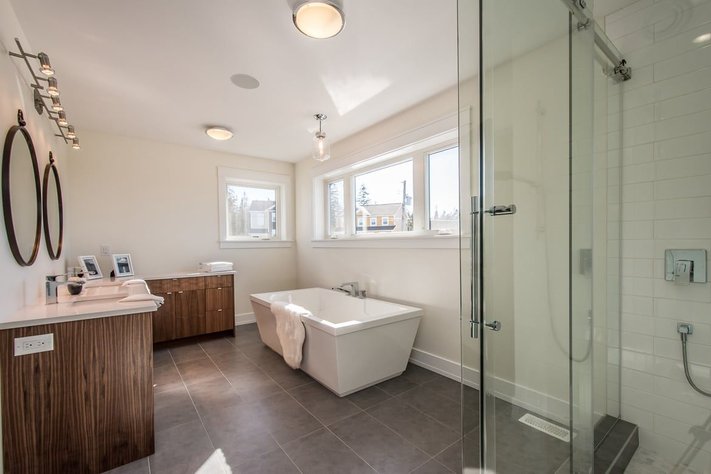 Large Ensuite Renovation Ideas Bathroom Ideas Dream Bathroom Bathroom Remodel Bathroom Tile Ideas Bathtub Remodel Bathroom Renovations Tiny House Stairs