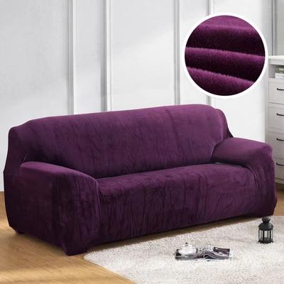 Thick Plush Sofa Cover In 2020 Plush Sofa Sofa Covers Sofa