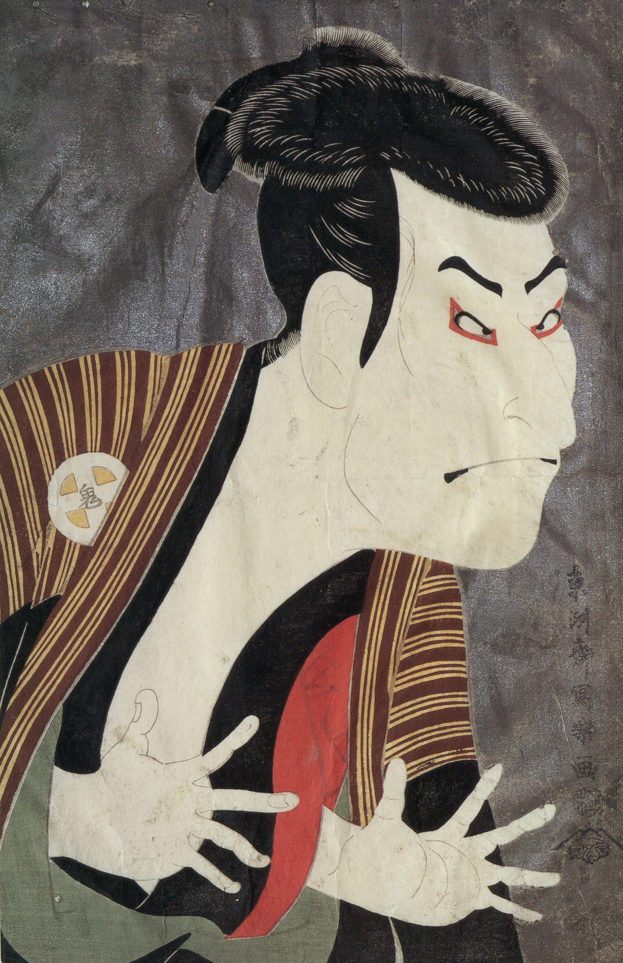 [浮世絵]東洲斎写楽 浮世絵 フリー画像 写楽 歌麿 Japanese art, Japanese