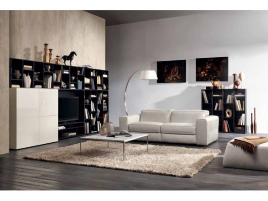 Brio Sofa Recliner Motion Natuzzi Italia available at Reflections - Wohnzimmer Braunes Sofa