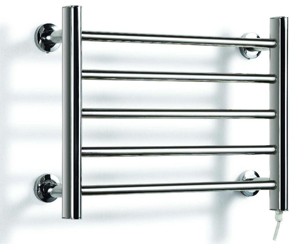 Heated Towel Rail Holder, Bathroom Accessories Towel Rack, Stainless ...