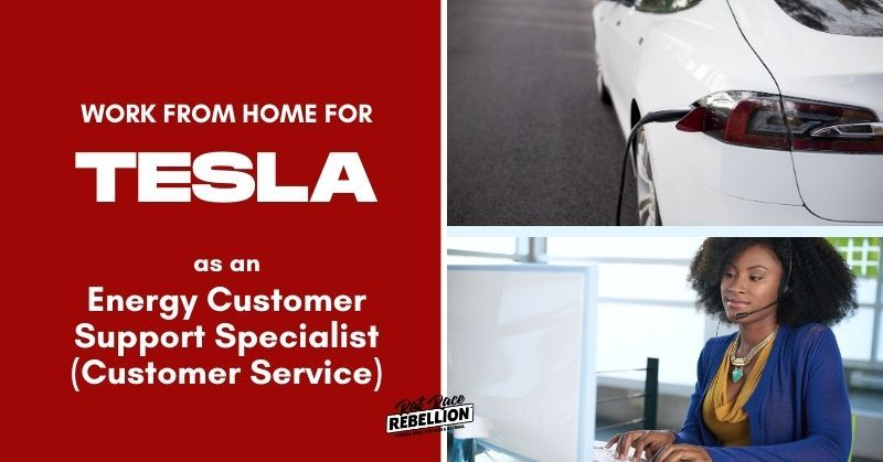 Work From Home For Tesla Now Hiring Energy Customer Support Specialists Customer Service Job Posting Key Performance Indicators Tesla