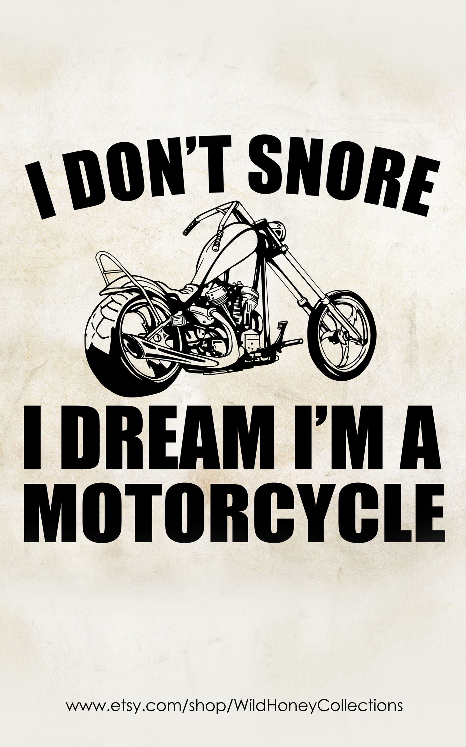 I Don/'t Snore I Dream I/'m a Motorcycle Mens Funny Biker Vest Motorbike Bike