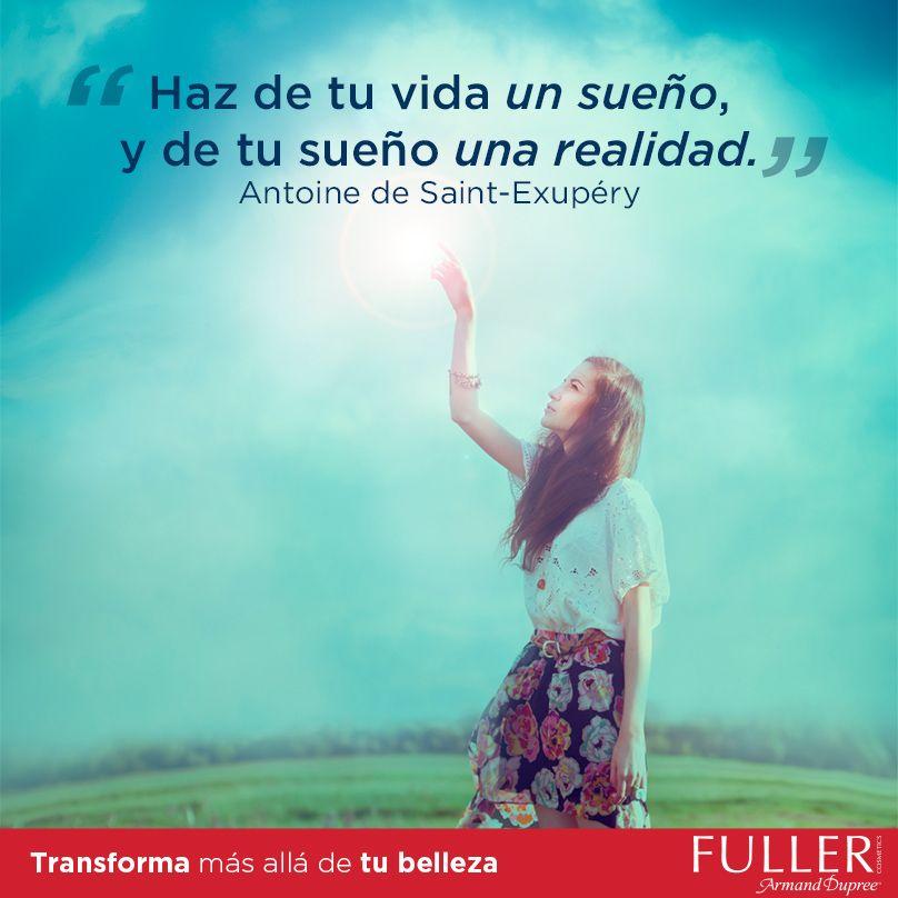 ¡Feliz inicio de semana! Tú tienes la fuerza y el poder para hacer tus sueños realidad. #SoyFuller