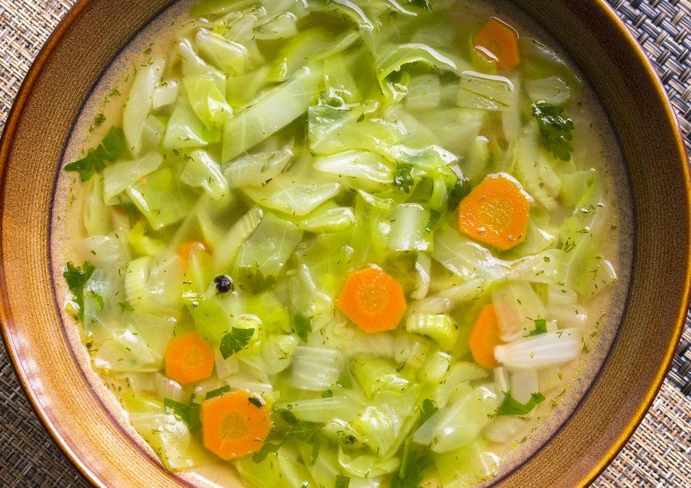 Recette : Soupe au chou | Soupe au chou, Recette soupe aux