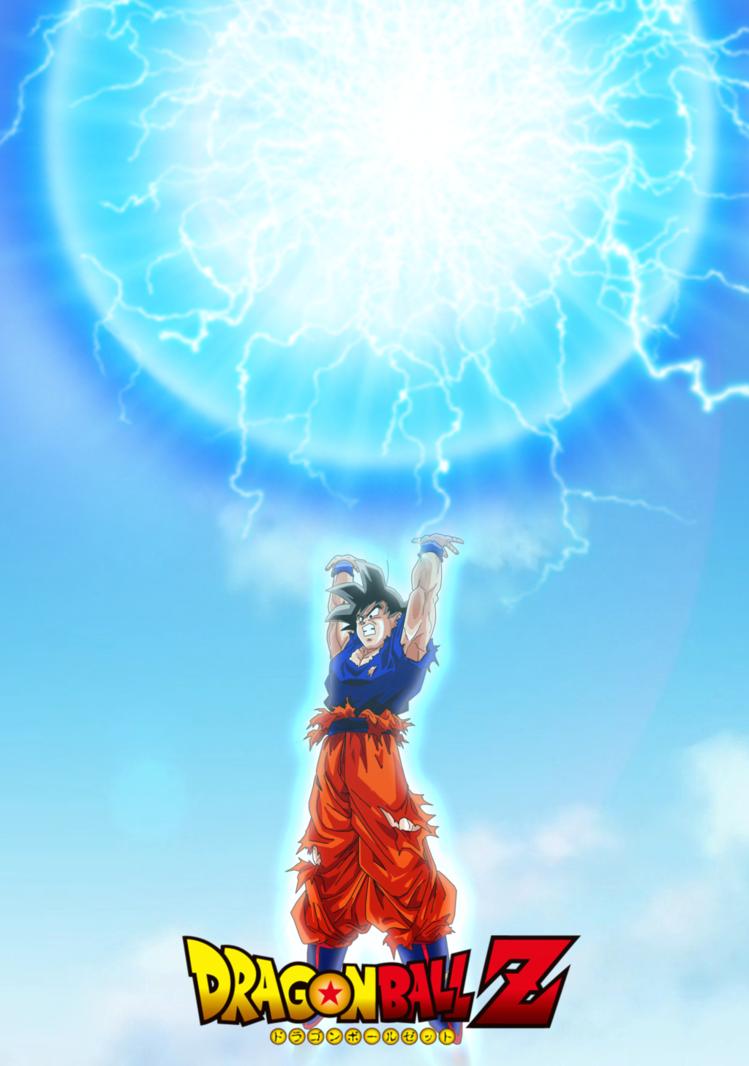 Goku Super Spirit Bomb Wallpaper By Brusselthesaiyan Dbz Goku