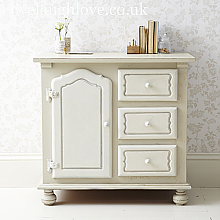 French Country Cupboard with Drawers - A60