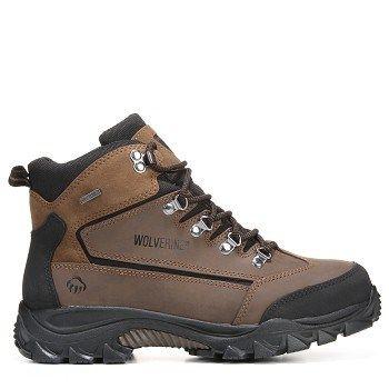 c9fa26c73959 Wolverine Men s Spencer Medium Wide Waterproof Hiking Boots (Brown Black)