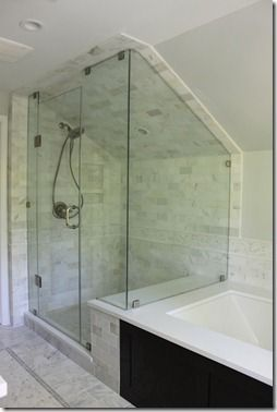 love this shower/tub but not sure about all of the tile