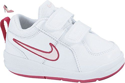 Nike Pico 4 Psv, Sneakers Basses fille, Blanc (White/Prism Pink-