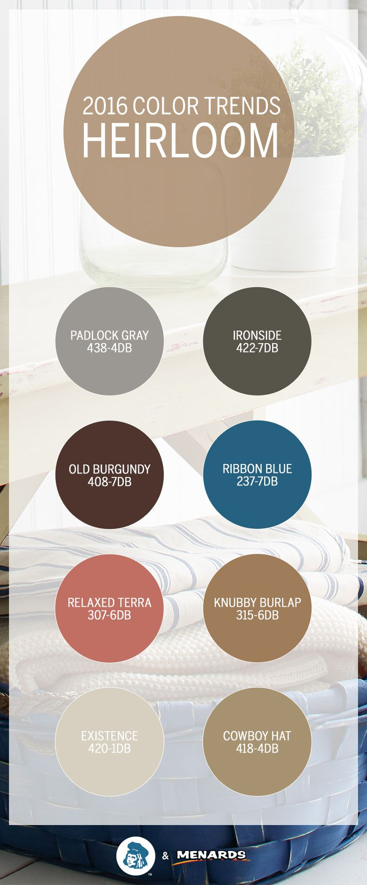 Some Things Are Just Timeless Like The Earthy Tones Of Dutch Boy S Heirloom Color Trend Learn Mor Dutch Boy Paint Colors Dutch Boy Paint House Paint Interior
