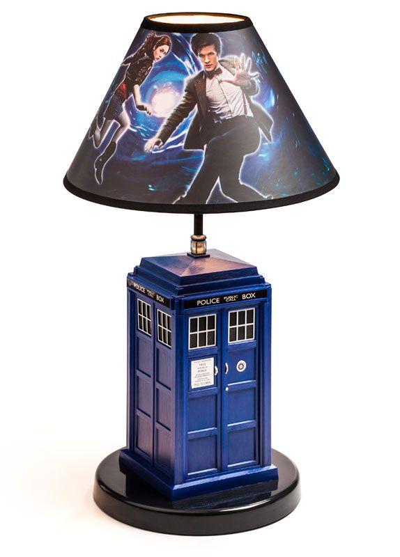ThinkGeek :: Doctor Who TARDIS Table Lamp