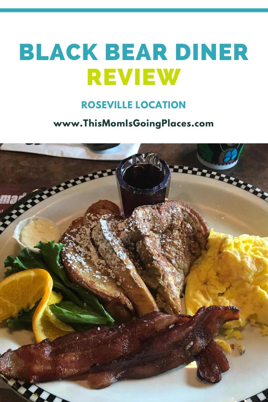 Black Bear Diner Roseville Review Best Diner Pancakes And Bacon Diner Menu