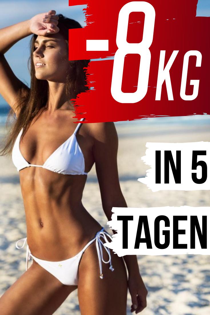 Abnehmen Tipps, um den Körper Ihrer Träume zu bekommen: -8 kg in 5 Tagen.