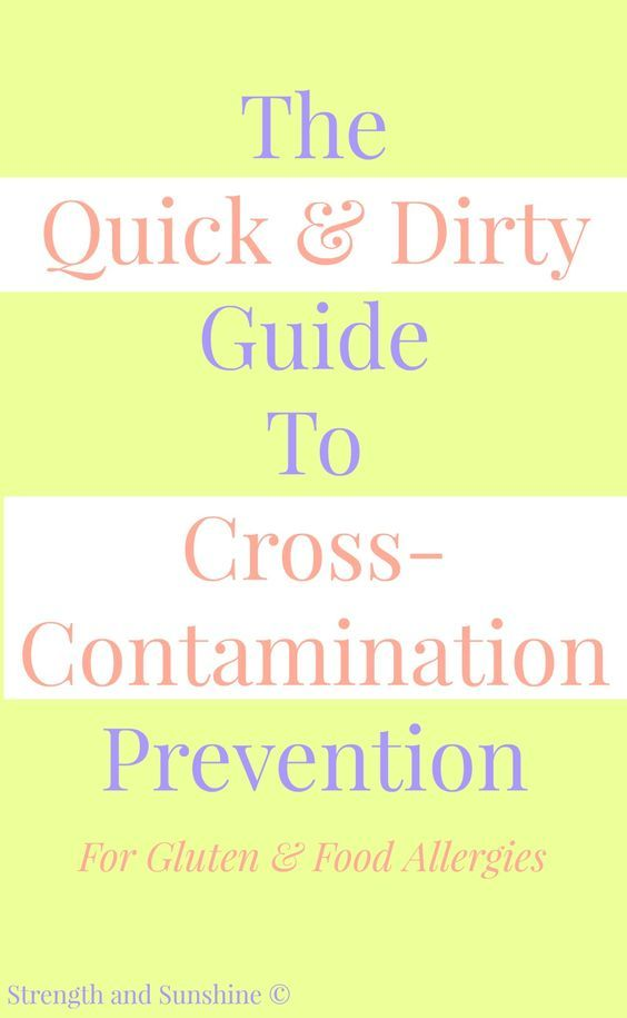 """The Quick & Dirty Guide To Cross-Contamination Prevention 