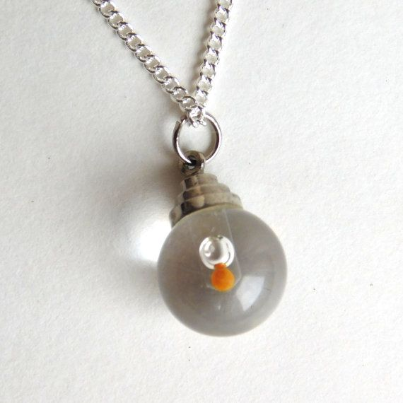 Vintage silvertone mustard seed pendant necklace glass sphere vintage silvertone mustard seed pendant necklace glass sphere bible verse charm faith as a grain of mustard seed sterling chain aloadofball Image collections