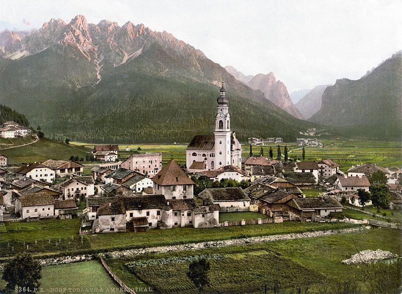 Toblach 1900 - Dobbiaco -