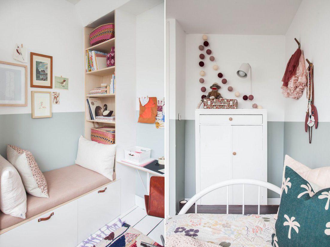 Antes y después de una habitación infantil vintage | Kids rooms ...