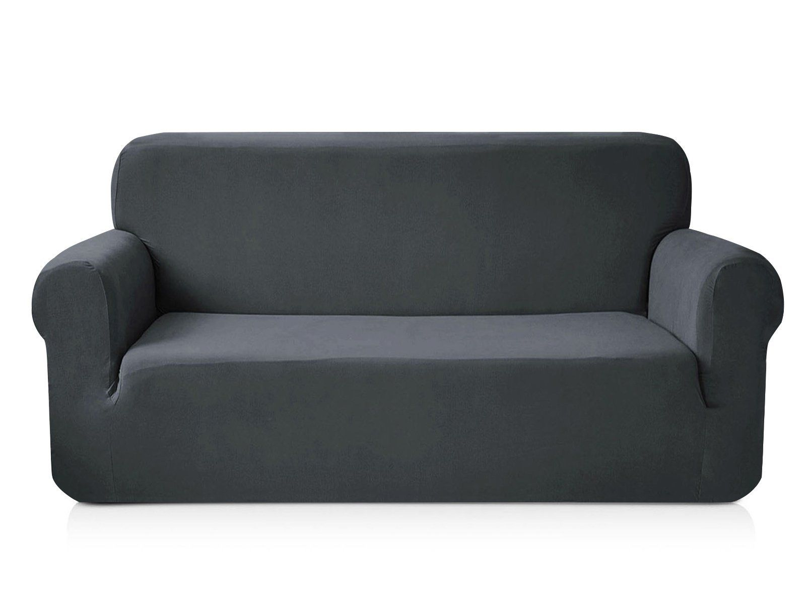 Chun Yi 1piece Knit Spandex Fbaric Sofa Slipcovers Loveseat Grey Check Out The Image By Visiting The Link I Slipcovered Sofa Fabric Sofa Loveseat Slipcovers