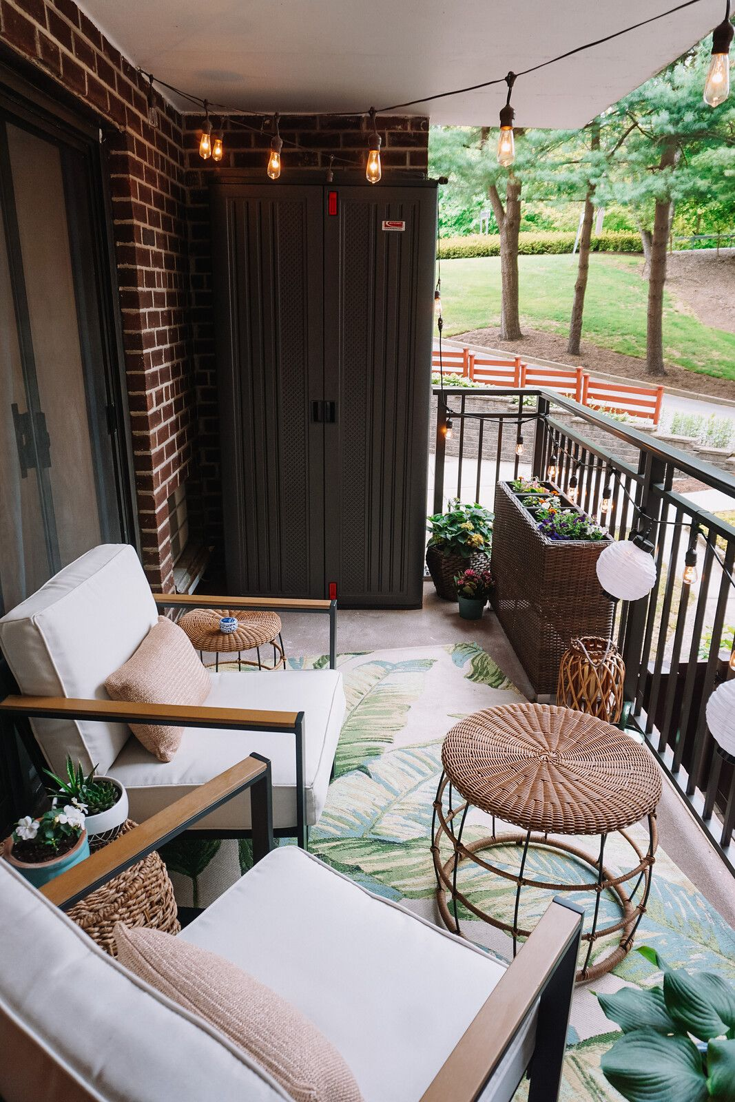 My Apartment Balcony Reveal More Affordable Outdoor Inspiration Living After Midnite In 2020 Apartment Balconies Balcony Remodel Target Outdoor Furniture
