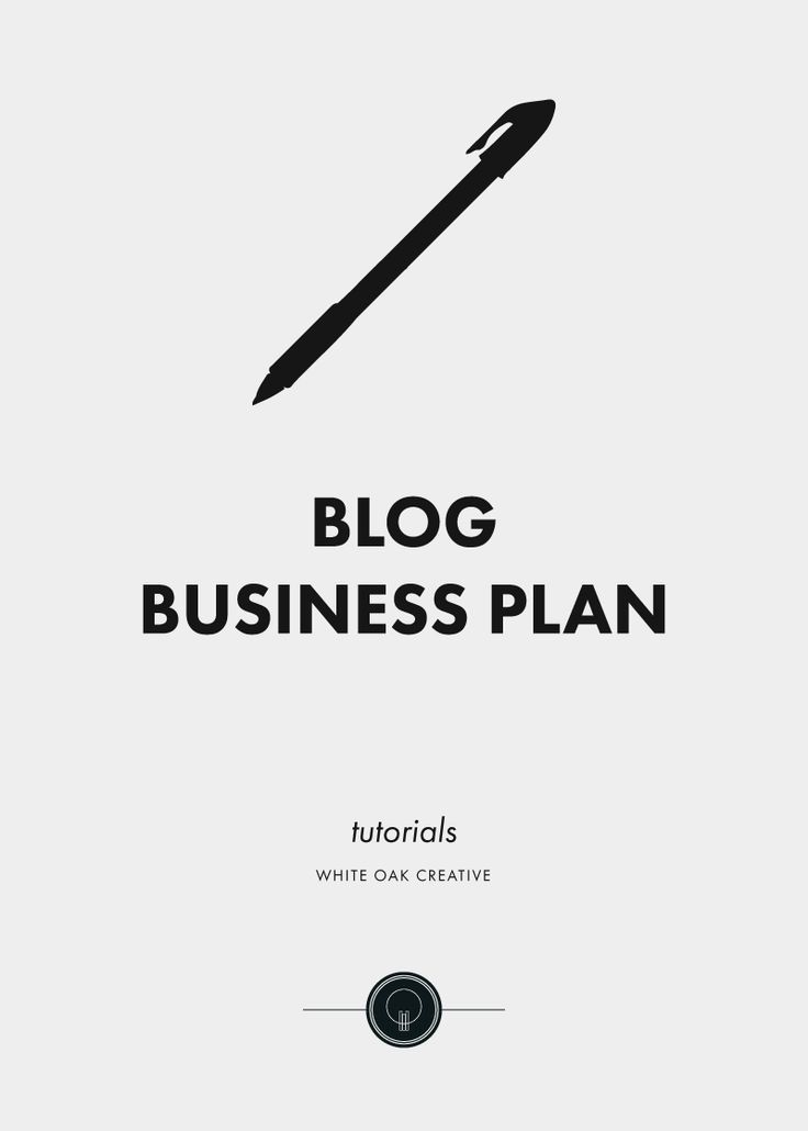 How To Write A Blog Business Plan  Business Planning Business