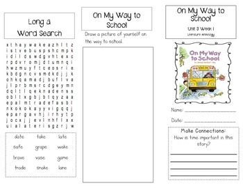 1st Grade UNIT 3 WEEK 1-What Time Is It?: Brochure McGraw Hill ...