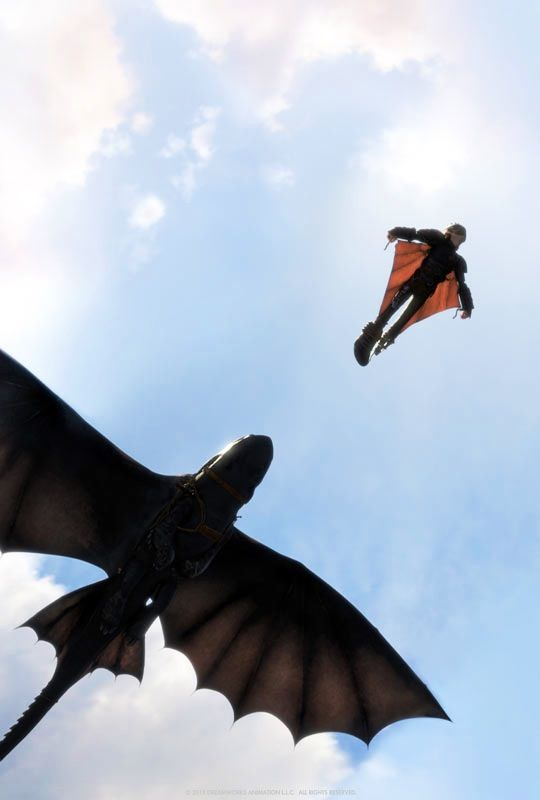 Hiccup And Toothless How To Train Your Dragon 2 Krokmou Cinema