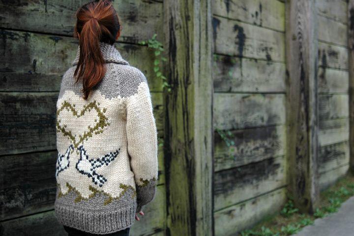 Key to Peace sweater