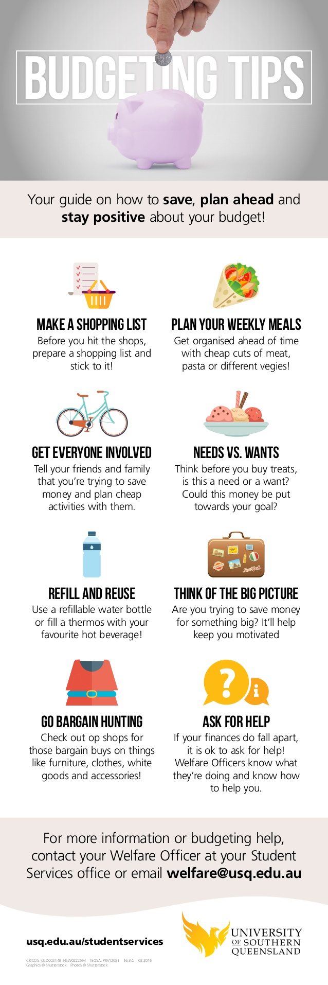 All The Best Budgeting Tips WeVe Heard In One Simple Infographic