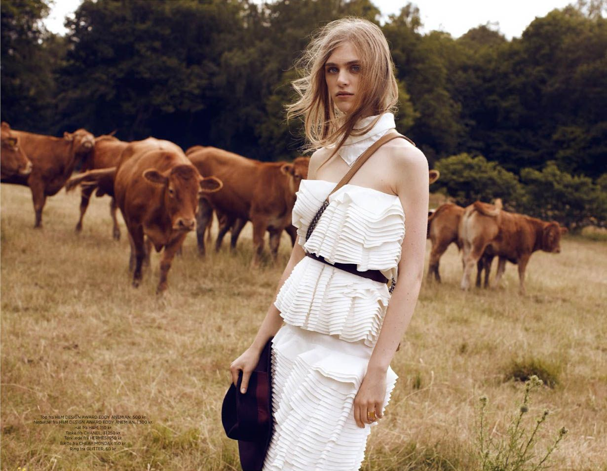 #HedvigPalm by #JetteJors for #Eurowoman September 2014