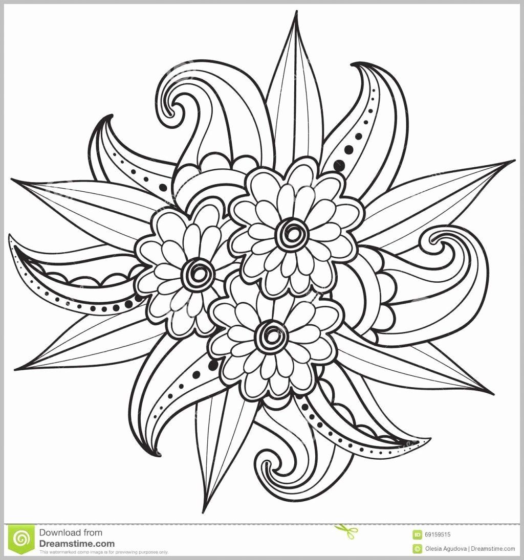 Flowers Coloring Book Pdf Elegant Coloring Books Uniquedult Coloring Page Flower Karen Pattern Coloring Pages Easy Coloring Pages Mandala Coloring Pages