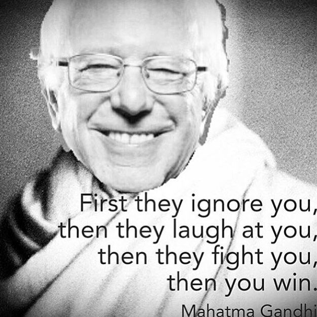 #feelthebern #berniesanders reposted from @tennesseebunny by adrianbourgeois