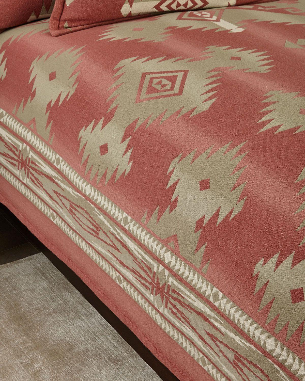 Full Queen Southview Blanket Pink Ralph Lauren Bedding