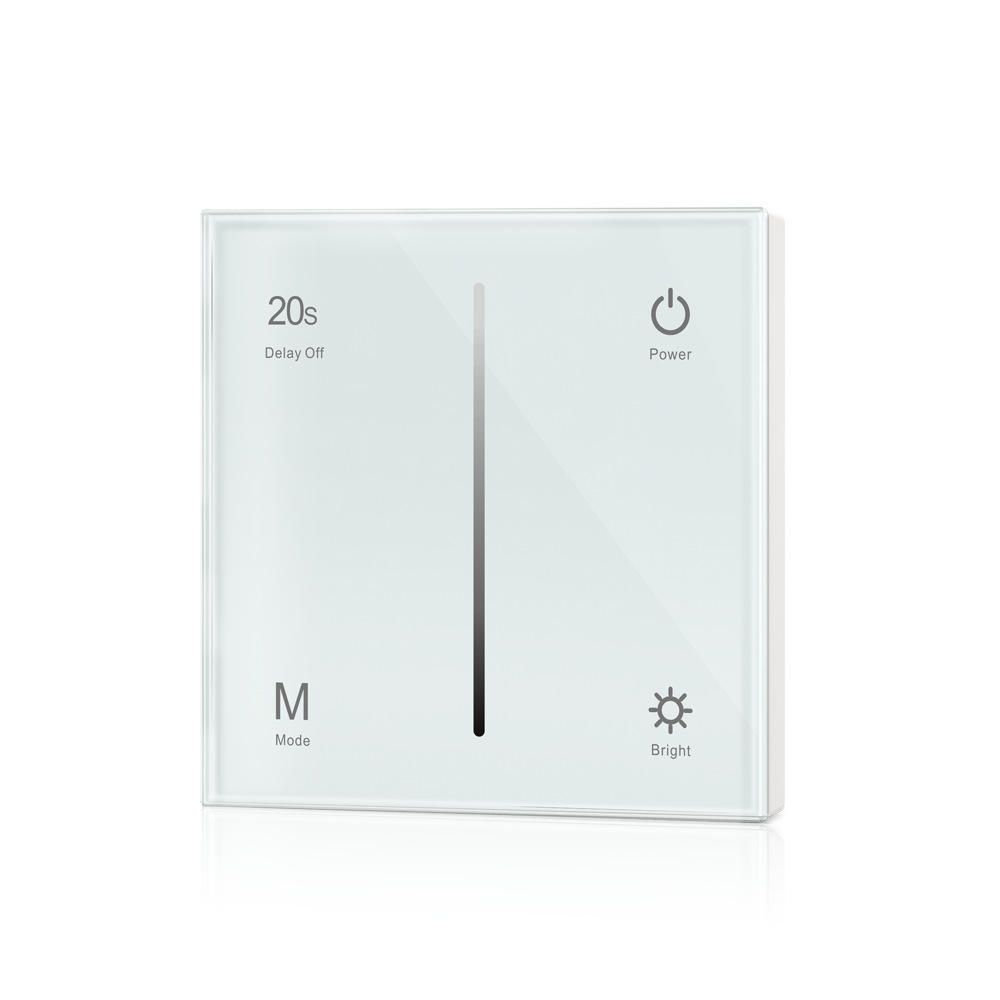 Ac100 240v 1ch Touch Control Panel Wall Mount Led Triac Dimmer Light Delayed Off Switch