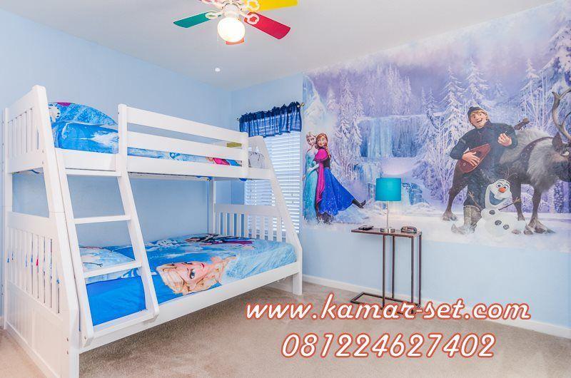 Tempat Tidur Frozen
