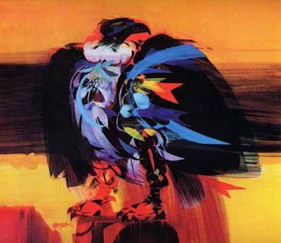 Pintores y escultores de colombia alejandro obregon c ndor de los andes 1959 condor de los - Pintores en cartagena ...