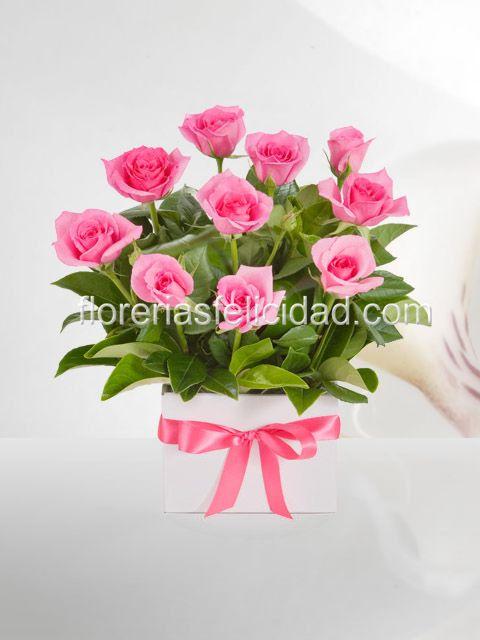 Arreglos Florales De Rosas Flores A Domicilio Florerias