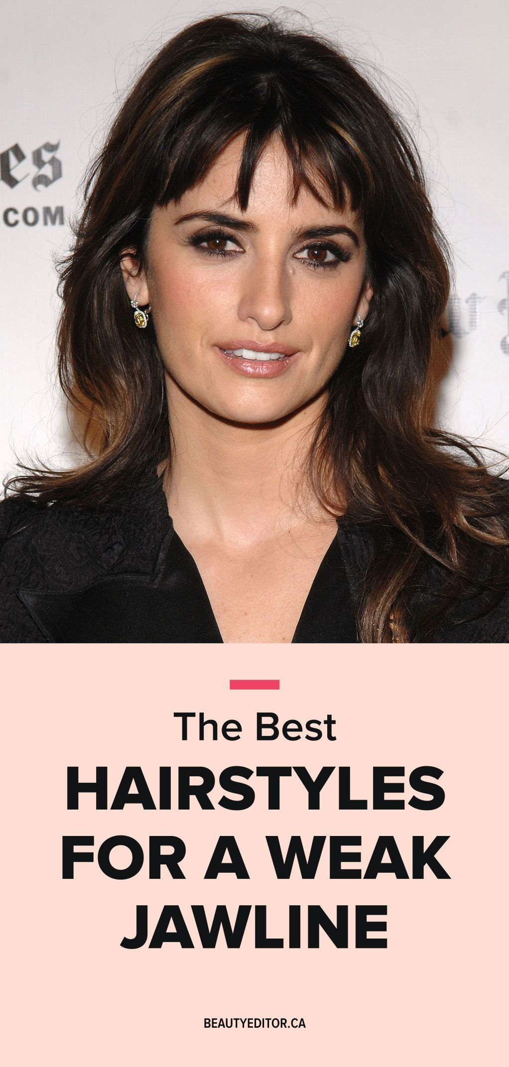 the best hairstyles for a weak jawline | hair, beauty