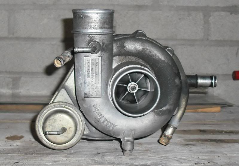 VF24: This is the standard equipment turbocharger used on